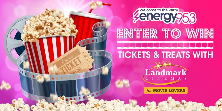 Enter to Win Tickets & Treats at Landmark Cinemas!
