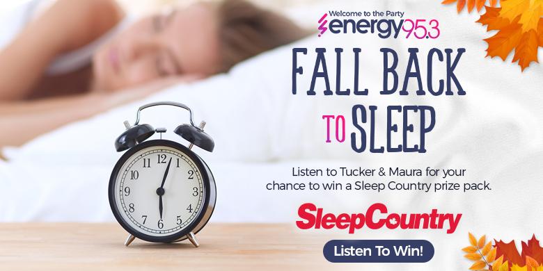 Fall Back to Sleep with Tucker & Maura and Sleep Country!